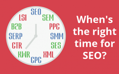 When is the right time to start SEO?