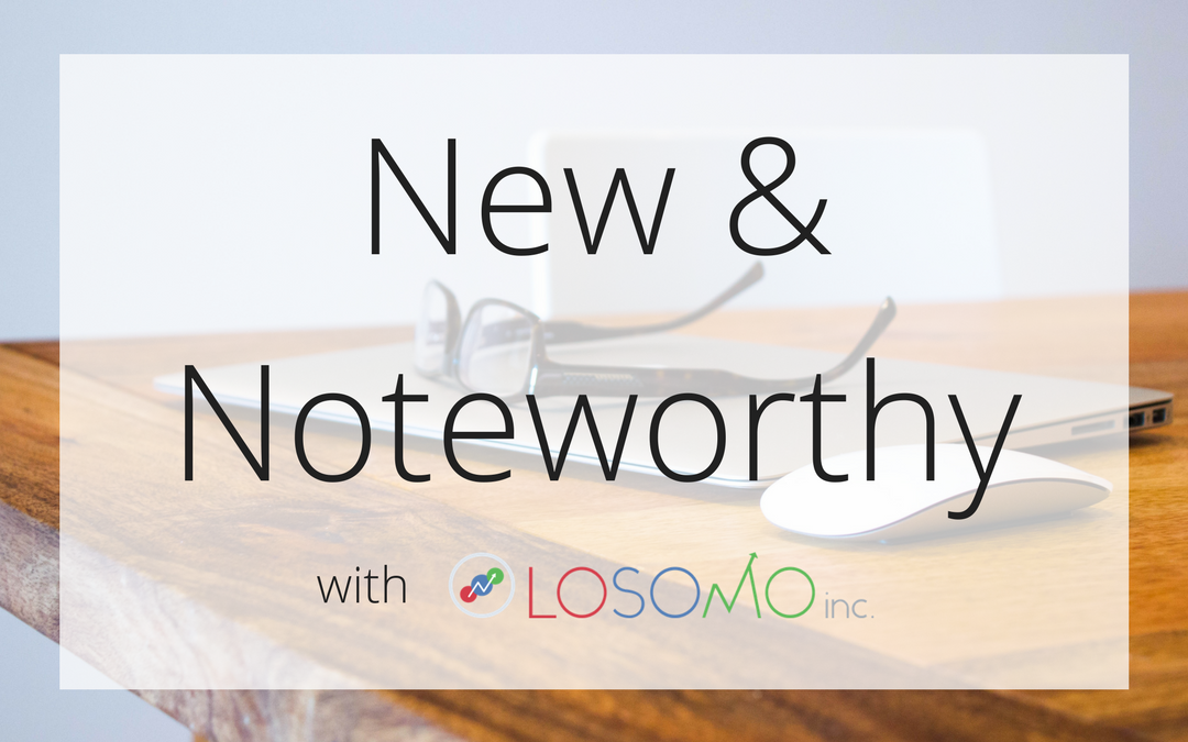 New & Noteworthy – September Edition