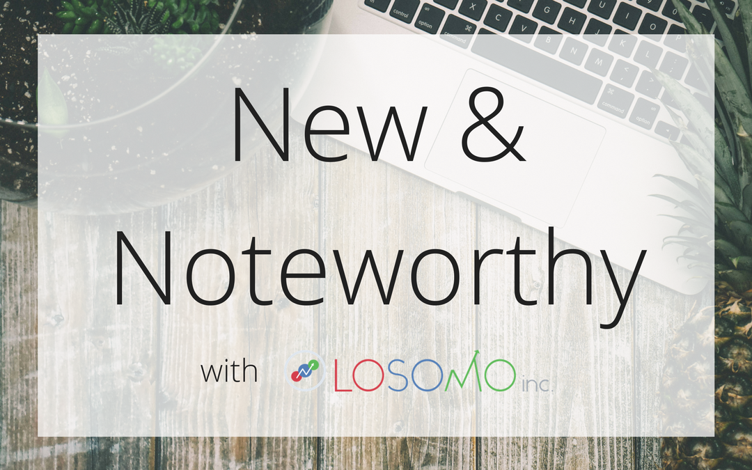 New & Noteworthy – October Edition